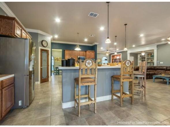 Floresville TX Homes for Sale - Discover updated kitchen amenities and features in many of the homes for sale in Floresville TX.