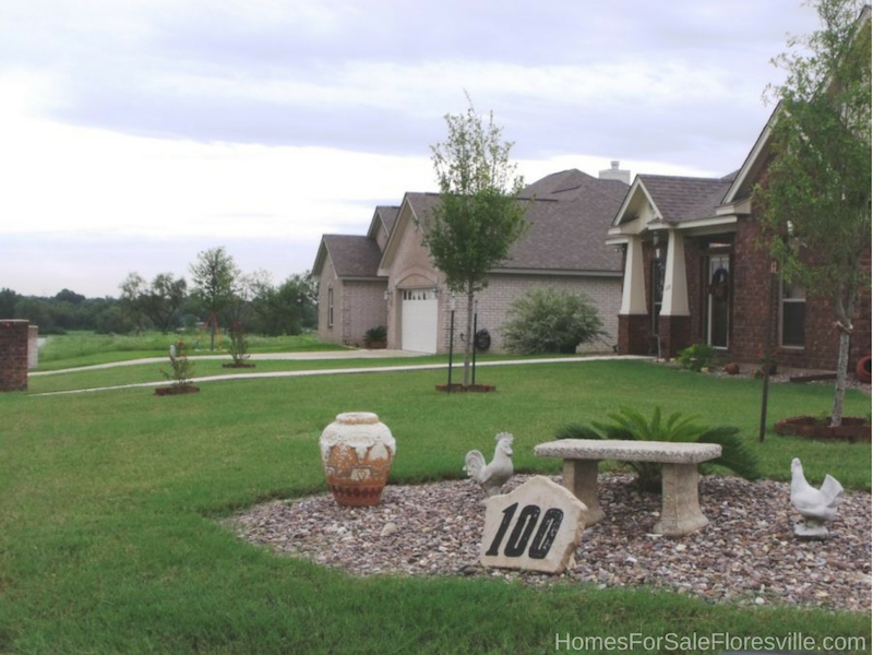 Floresville TX Homes - Make your Floresville TX home for sale more appealing by adding flowers.