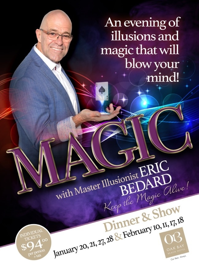 ONE ON CANADA'S TOP MAGICIAN ERIC BEDARD