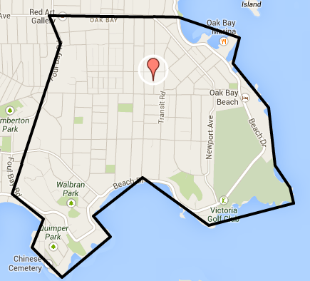 South Oak Bay Homes For Sale Map Search