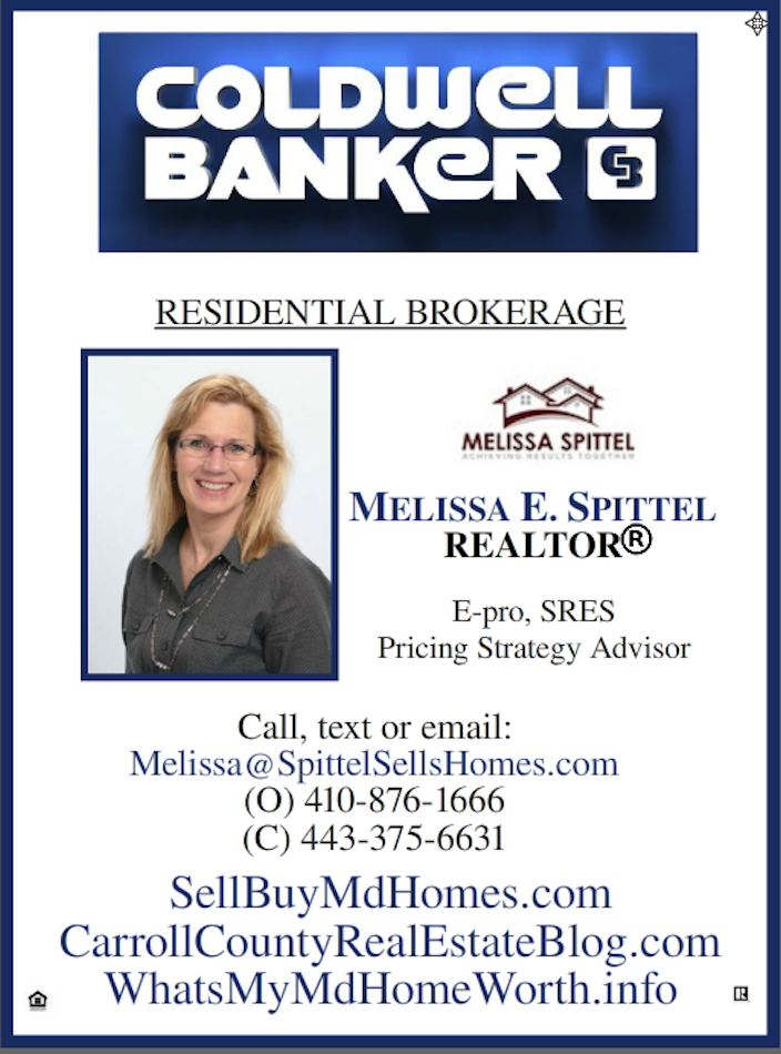 Melissa Spittel, Carroll County Maryland real estate agent