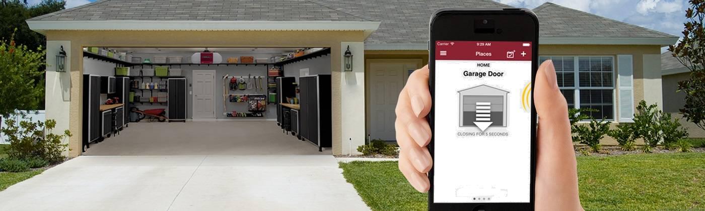 Open Garage Door With Smartphone Smartphone Garage Door Openers