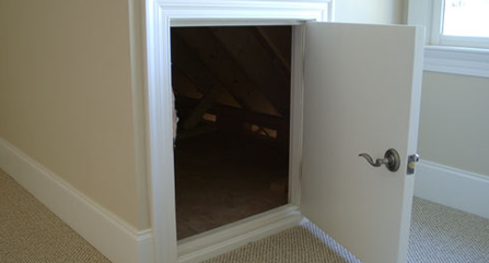& Is your attic access door insulated?