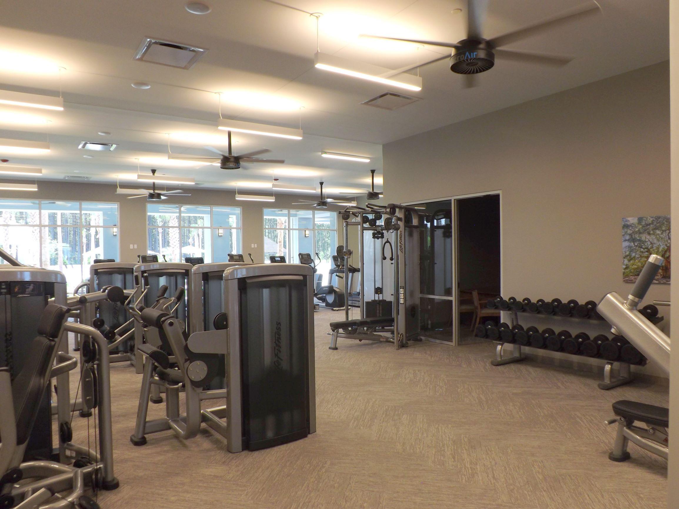 Fitness Center at Del Webb Nexton
