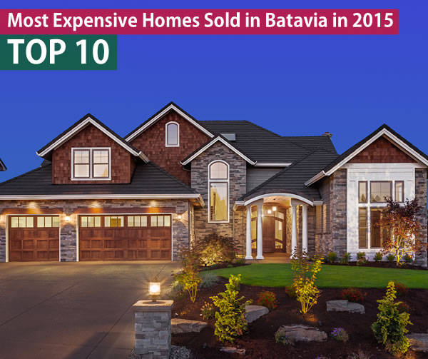 Batavia IL Luxury Homes Sold 2015