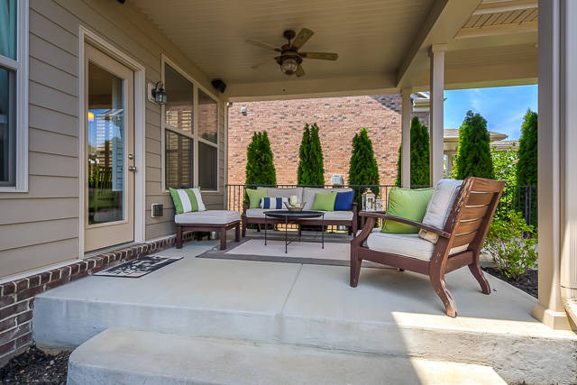 Franklin TN Home in Zip Code 37067 with Gas-Powered Fire Pit