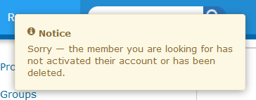 ActiveRain Member Deleted