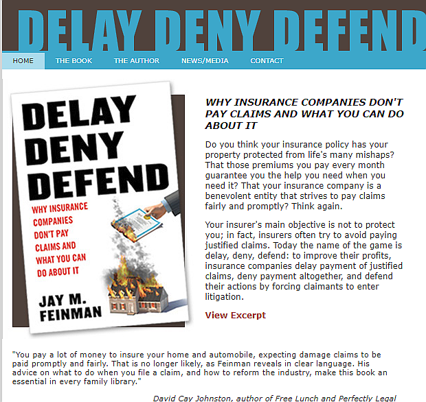 Deny, Delay, Defend