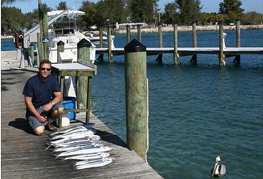 Joe Griffin at Venice Florida Jetty