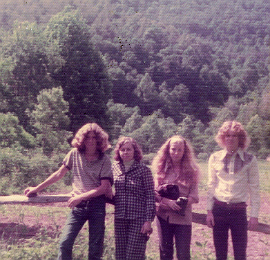 Fred Griffin with Family in North Carolina