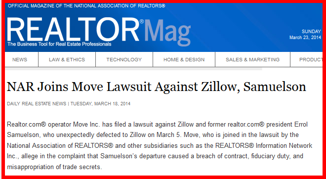 Realtor.com sues Zillow