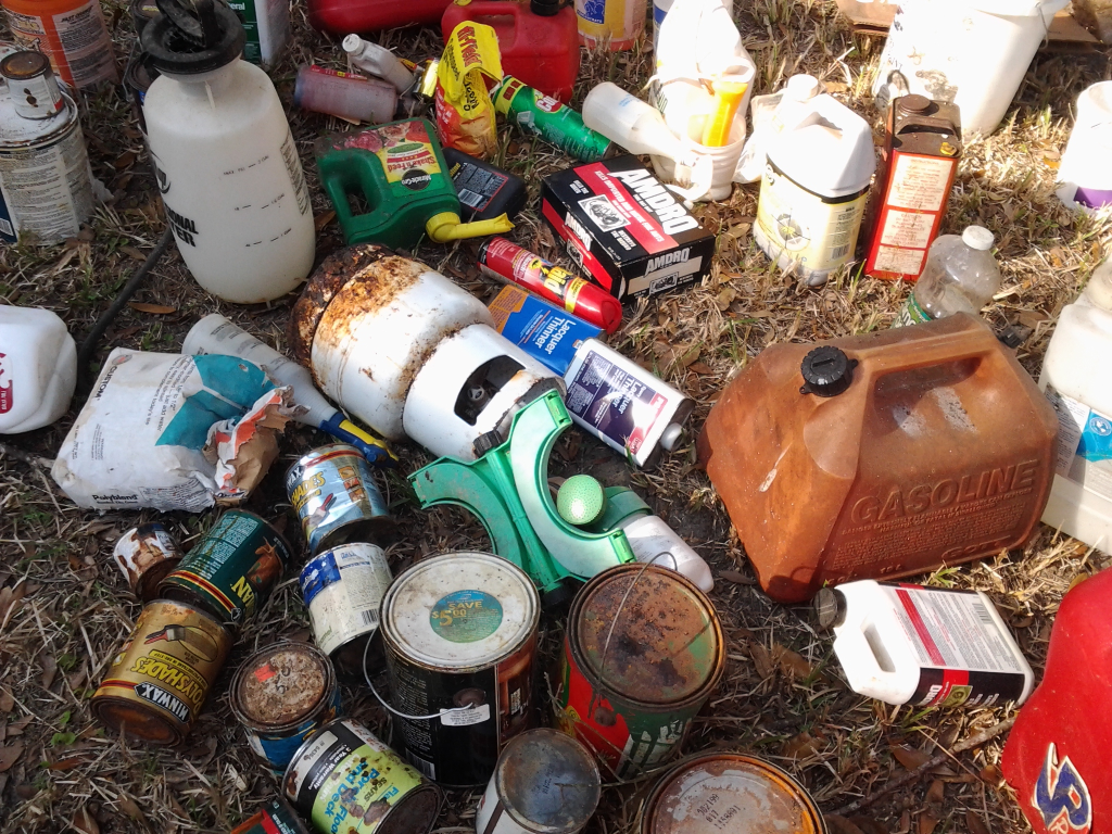 chemical waste Find our about household chemical round-up events and how to properly dispose of chemicals.