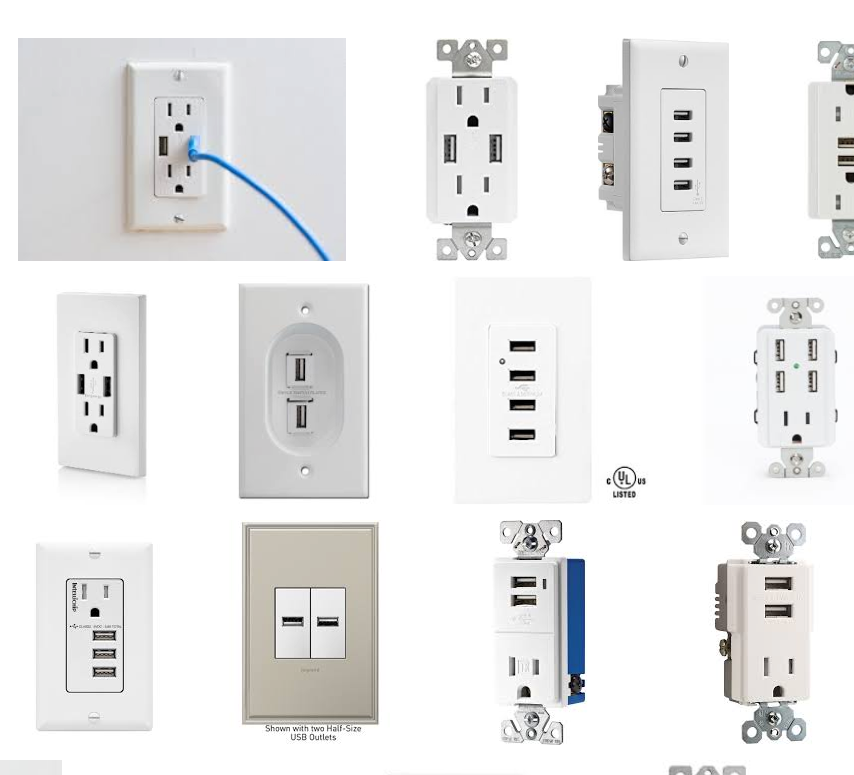 New Construction question: USB Outlets. Are build... on standard 220 volt outlet, usb wall outlet, cable tv outlet, installing wall outlet, usb plug outlet, 240 volt outlet, installing outlet box, installing recessed tv outlet, installing outlet in vehicles, installing electrical outlets,