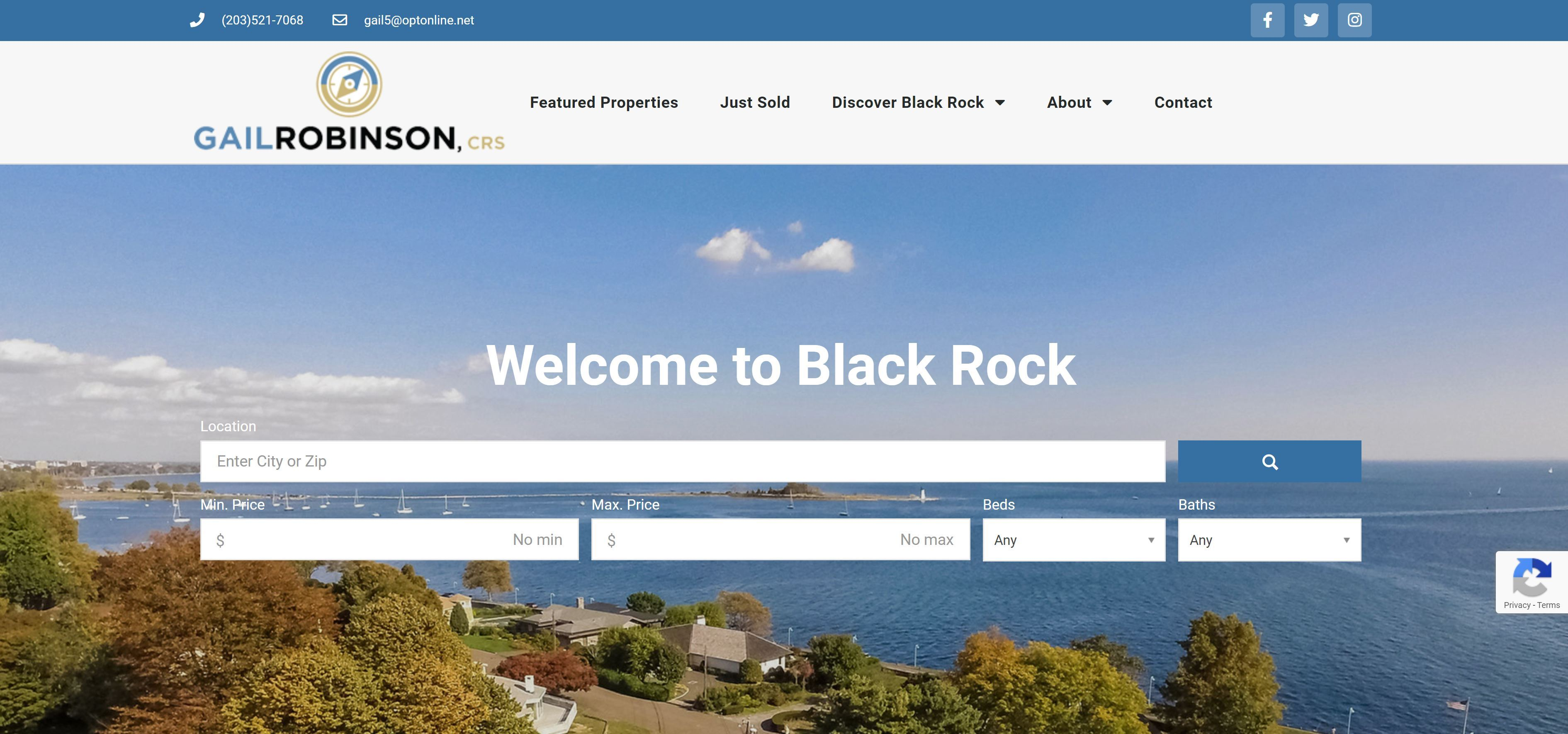 Black Rock Homes for Sale Website