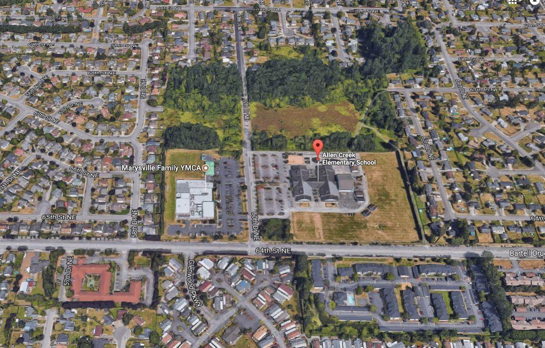 Homes Near Allen Creek Elementary School in WA