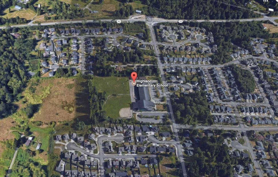 Homes Near Highland Elementary School in WA