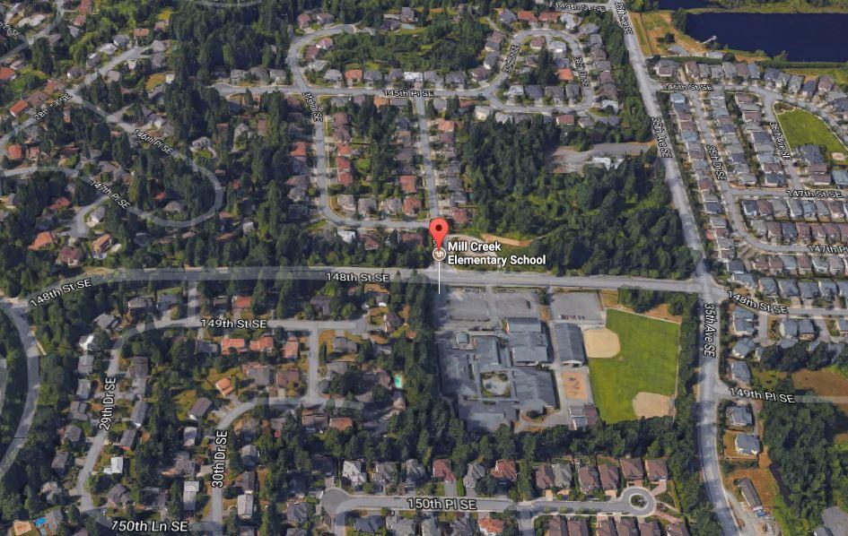 Homes Near Mill Creek Elementary School in WA