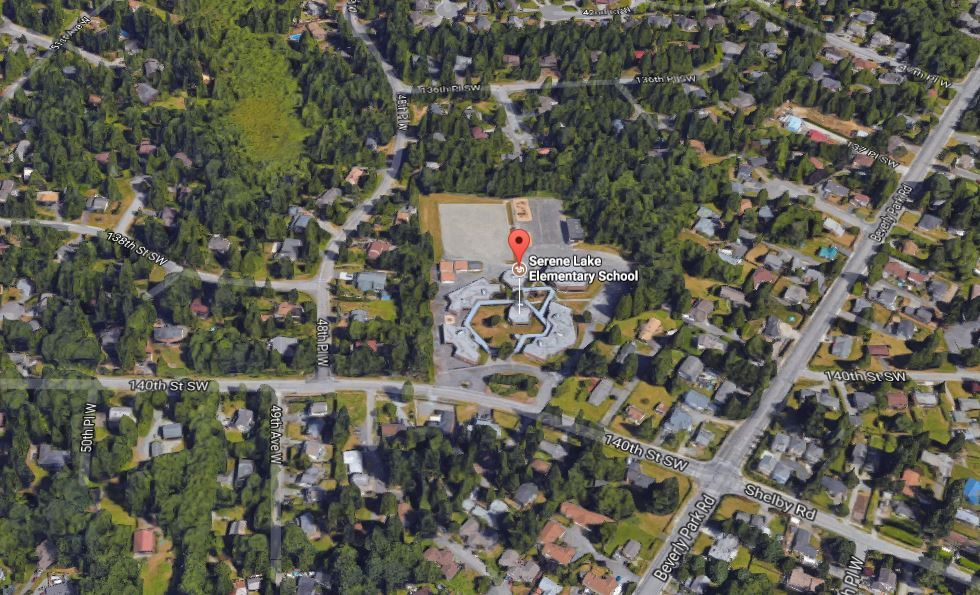 Homes Near Serene Lake Elementary School in WA