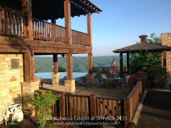 The Retreat Caldwell WV Real Estate Properties for Sale - Enjoy the luxurious resort facilities of The Retreat lodge-style clubhouse when you buy any of the properties for sale in The Retreat on White Rock Mountain Caldwell WV.