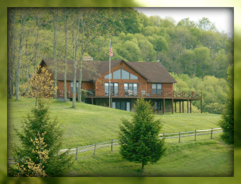 Sold 5BR/3.5 Bath log home, Valley Head, WV