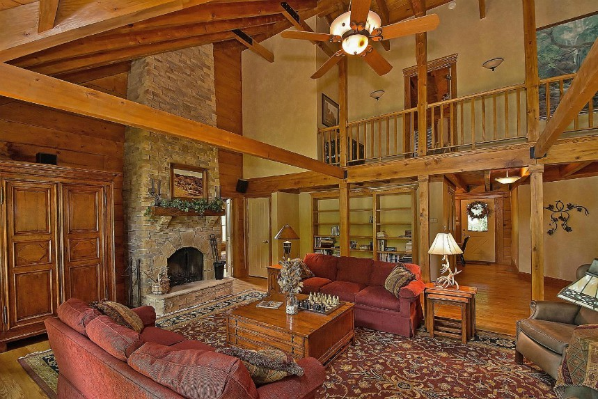 log homes for sale in the Greenbrier County, WV