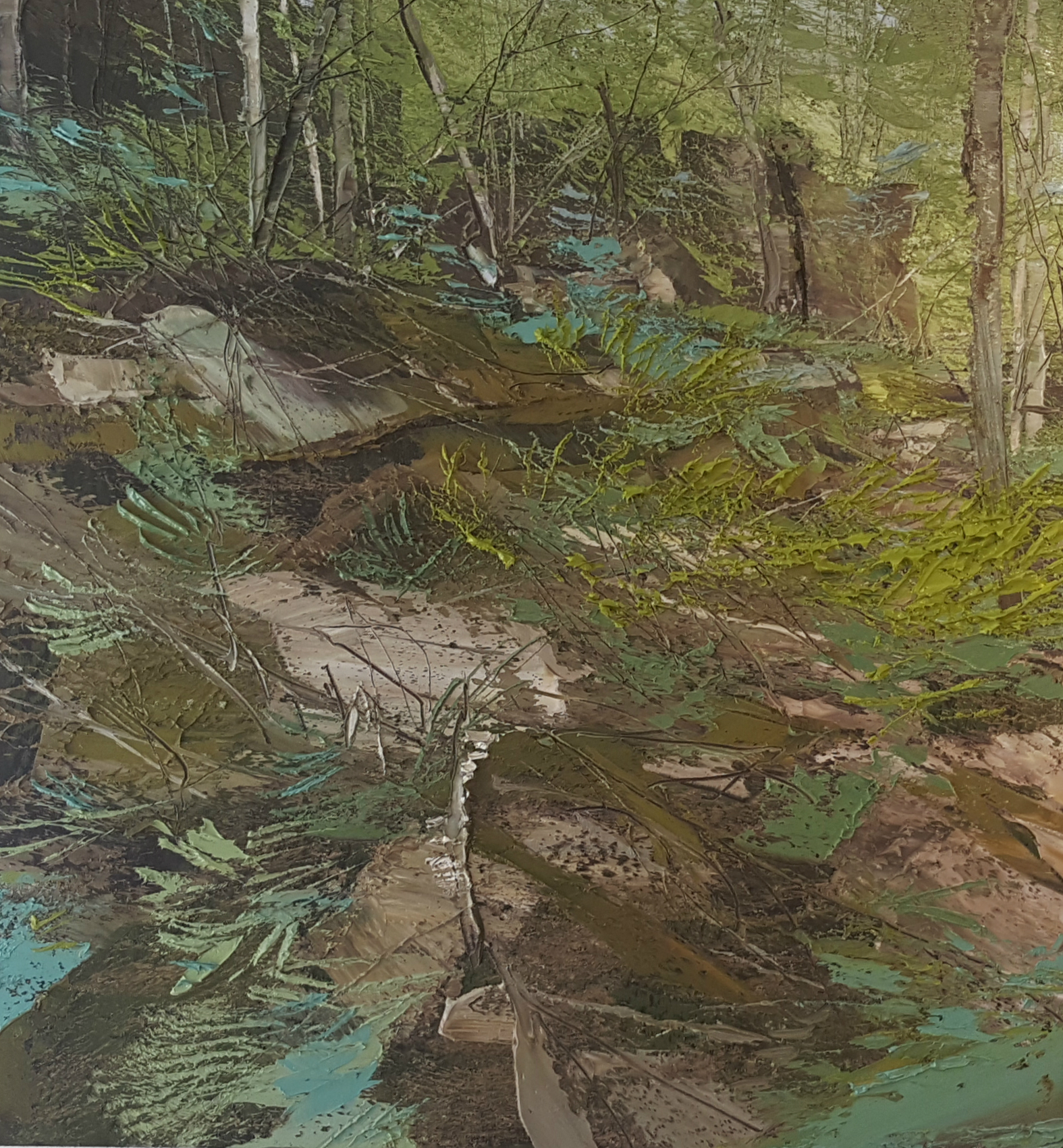 Lynn Boggess Paintings at the Cooper Gallery