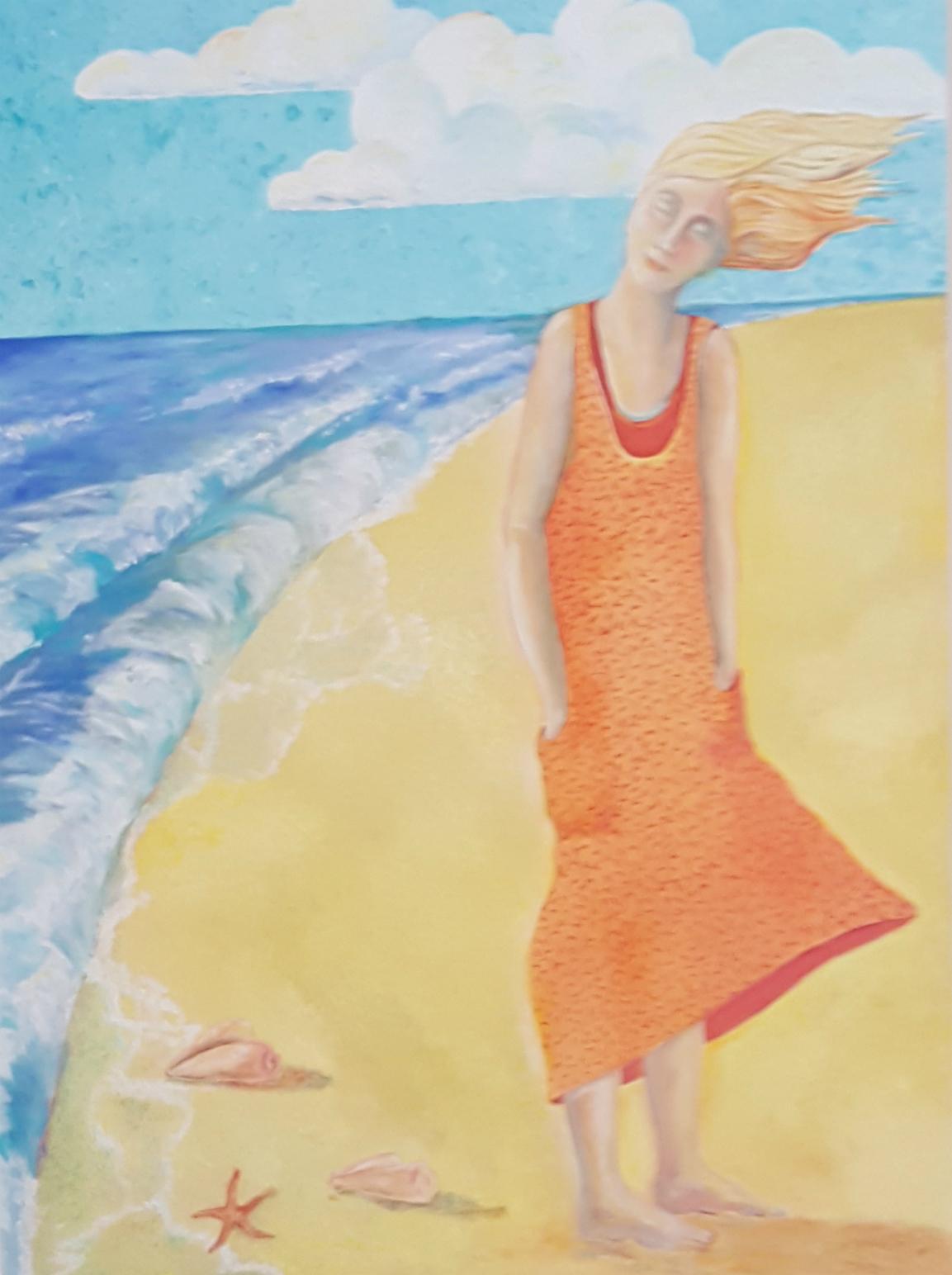 Jorn Mork paintings at Cooper Gallery, Lewisburg WV