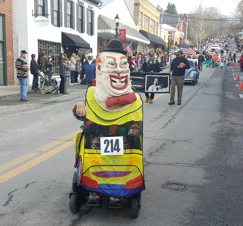 the shanghai parade 2017, lewisburg wv