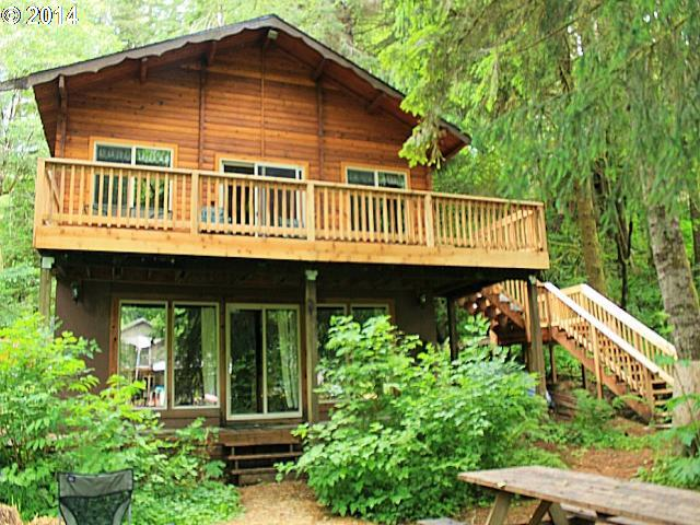 Fishhawk lake real estate cabins in the woods for Cabin in the woods oregon