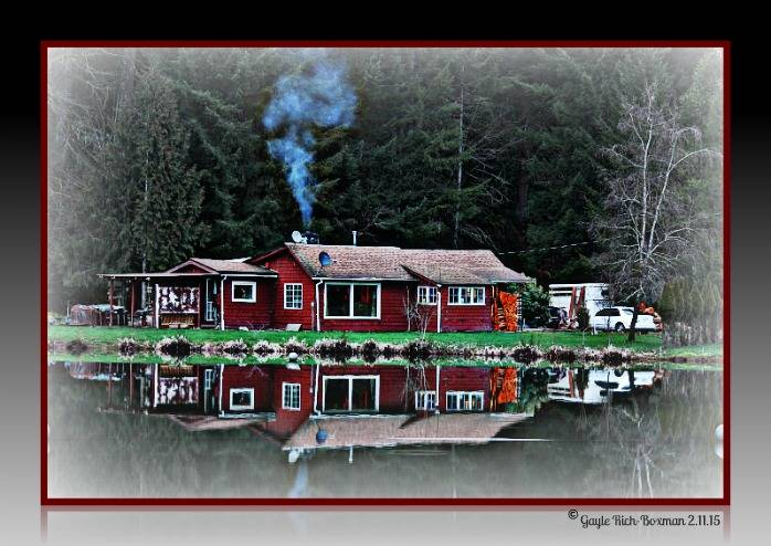 First Cabin on Fishhawk Lake-Gayle Rich-Boxman Copyrighted All Rights Reserved 2015