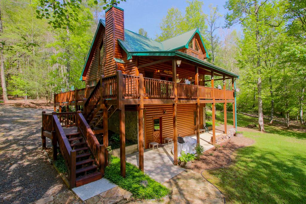 Creek Front Cabin For Sale In Blue Ridge Ga