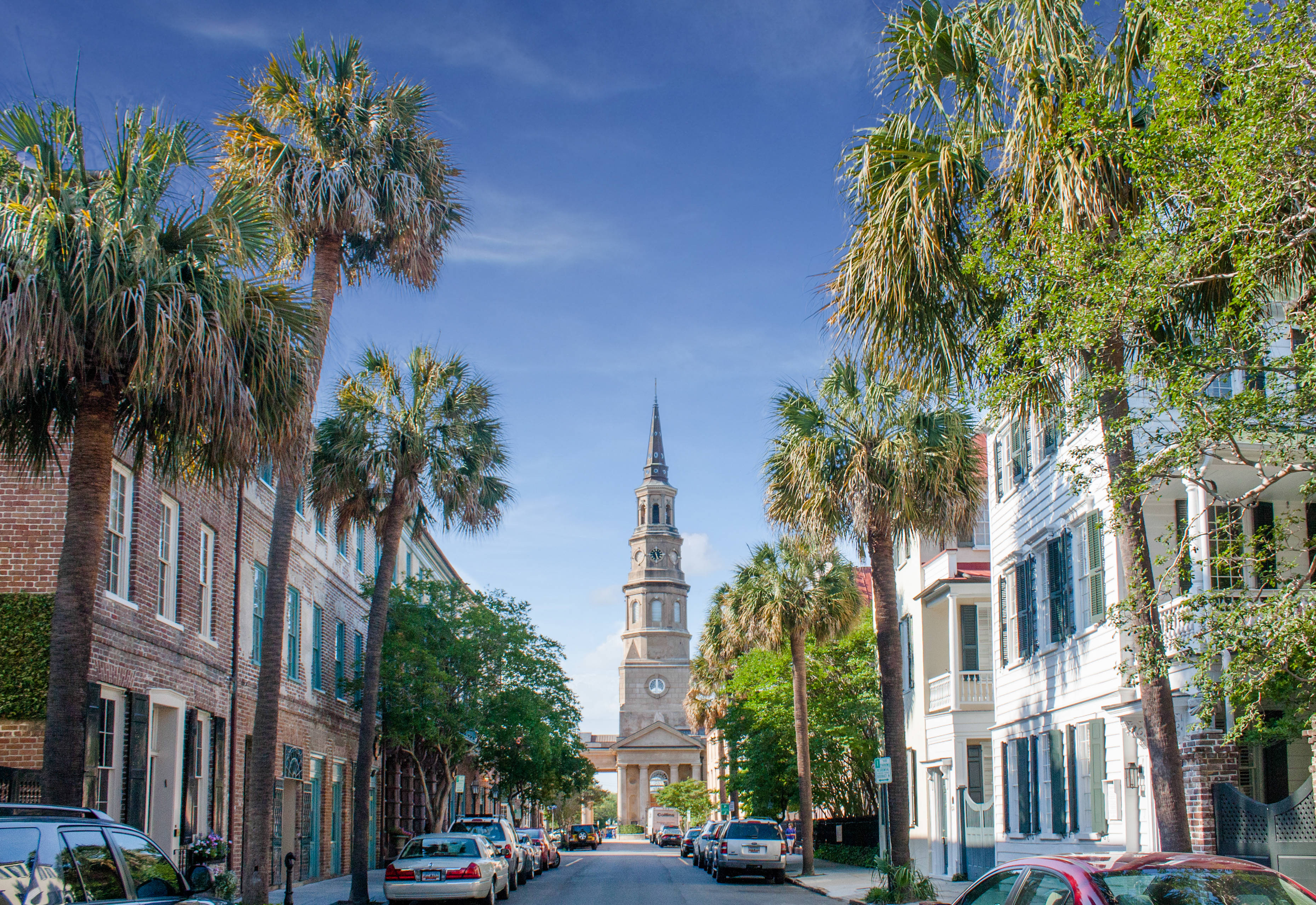 French Quarter In Downtown Charleston Sc