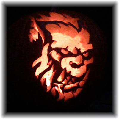 Pumpkin carving by Derek Fanucci