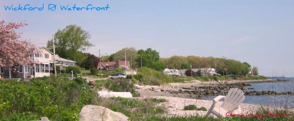 Wickford RI waterfront view
