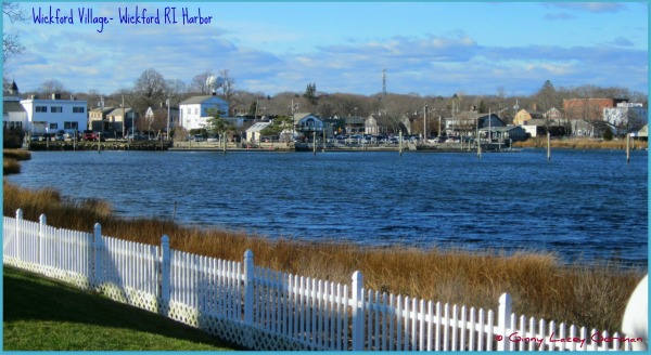 Wickford RI real estate view of Harbor