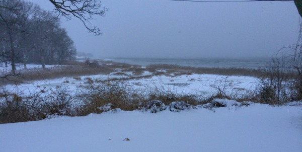 Narragansett Bay Snow storm RI