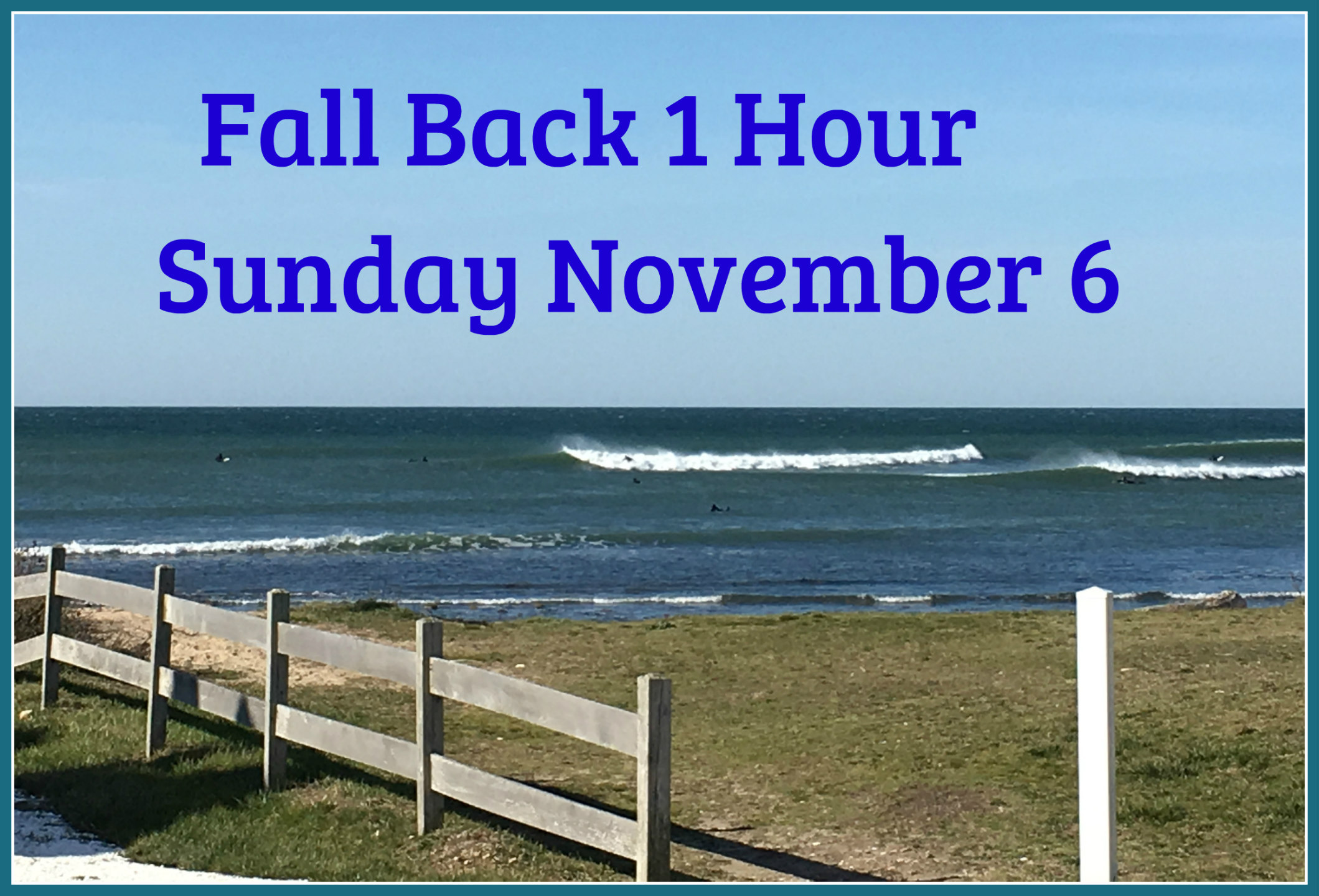 Clock Fall Back in Time 2016 November 6th