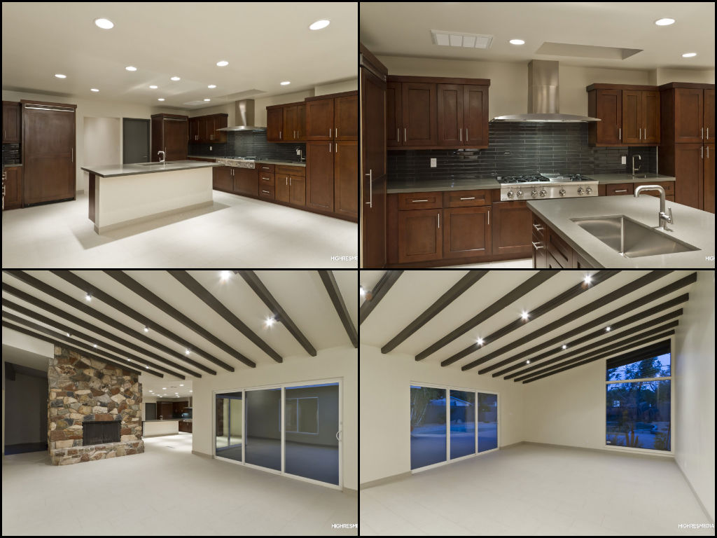 4 beds 3 baths mid century modern home in the central for Corridor kitchen