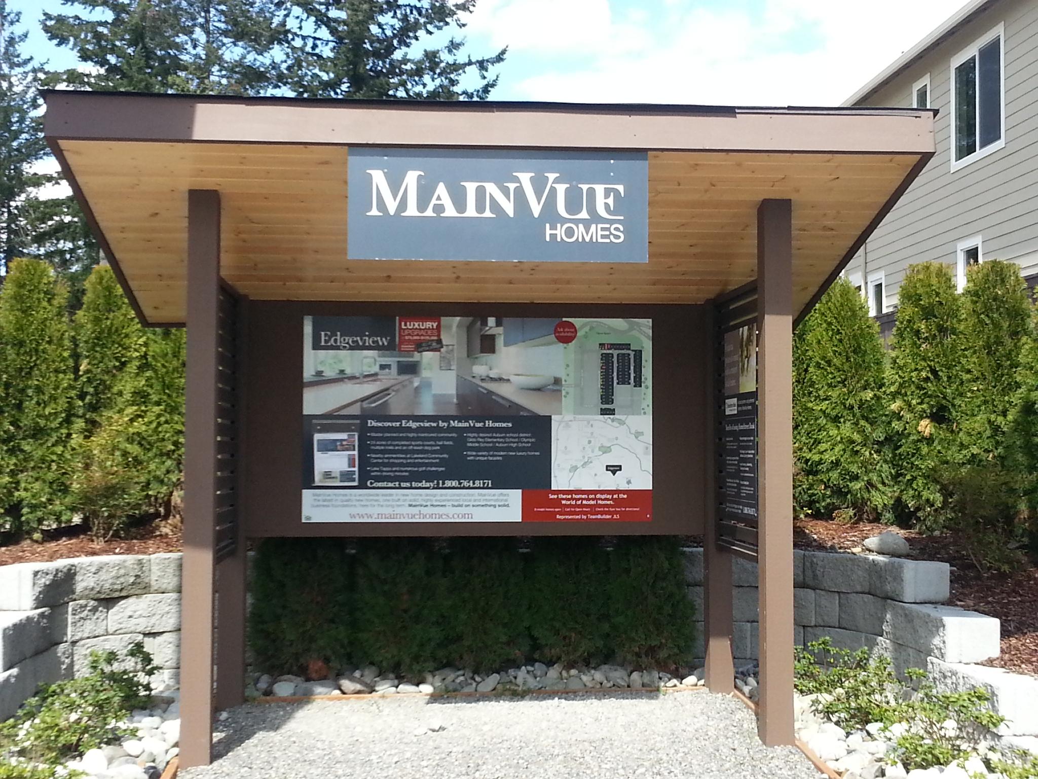 Mainvue Homes In Auburn Kent Wa