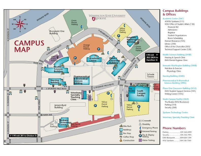 Svsu Campus Map Svsu University Village Map Inspiring World Map