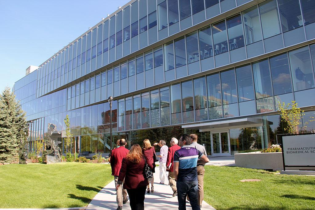 Gsi Ambassadors Tour The Wsu Spokane Campus The University District