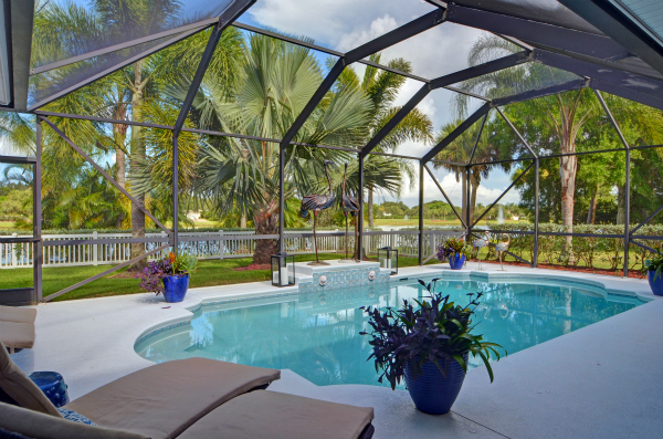 Lakefront Pool Home In Gated Vero Beach FL
