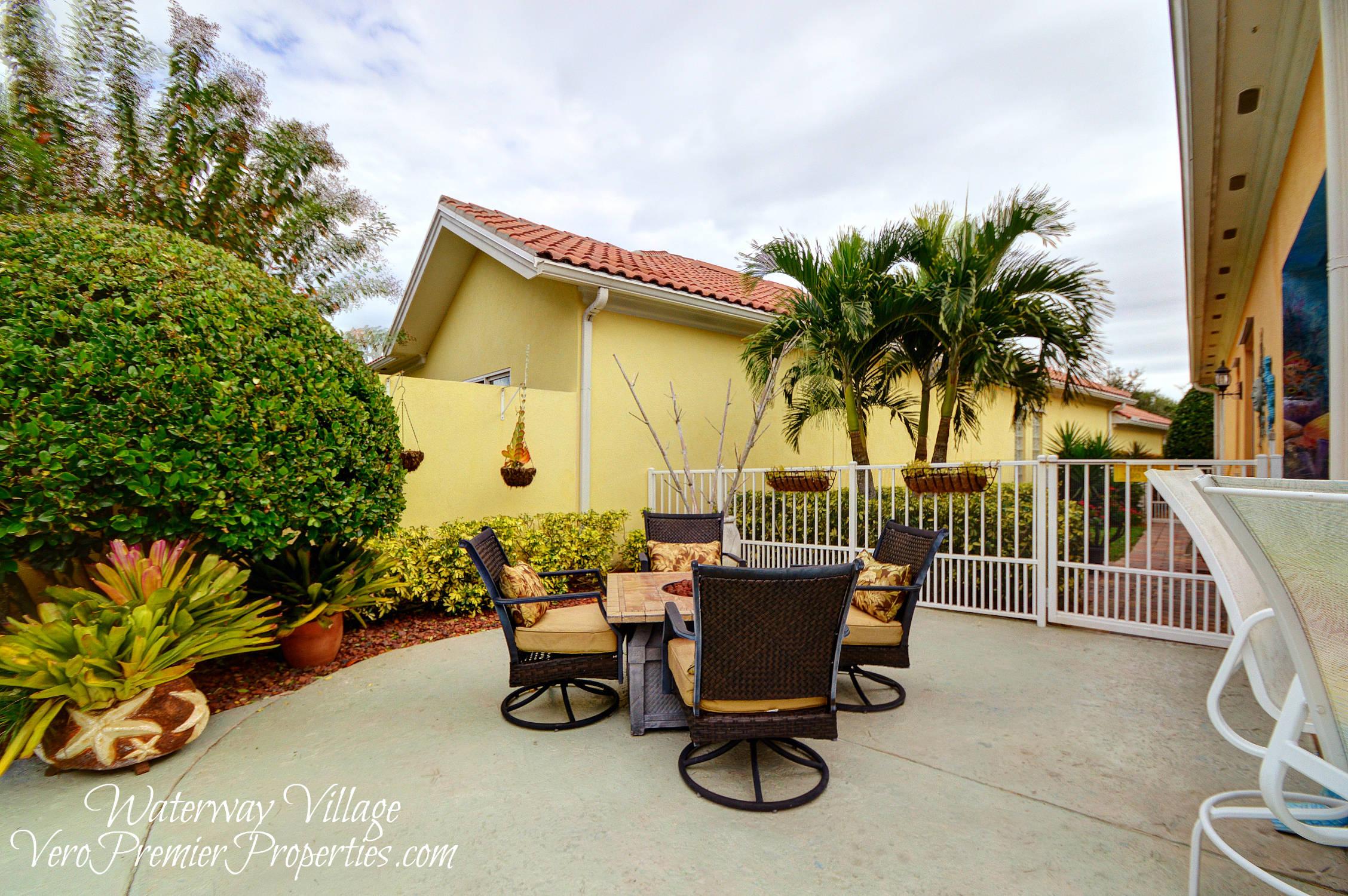 Tropical Pool Home Vero Beach FL Waterway Village