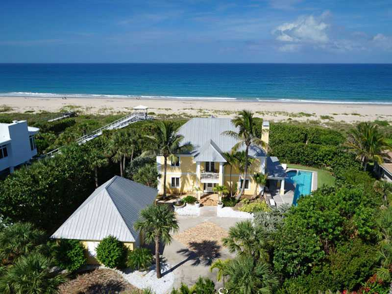 oceanfront homes vero beach florida for sale