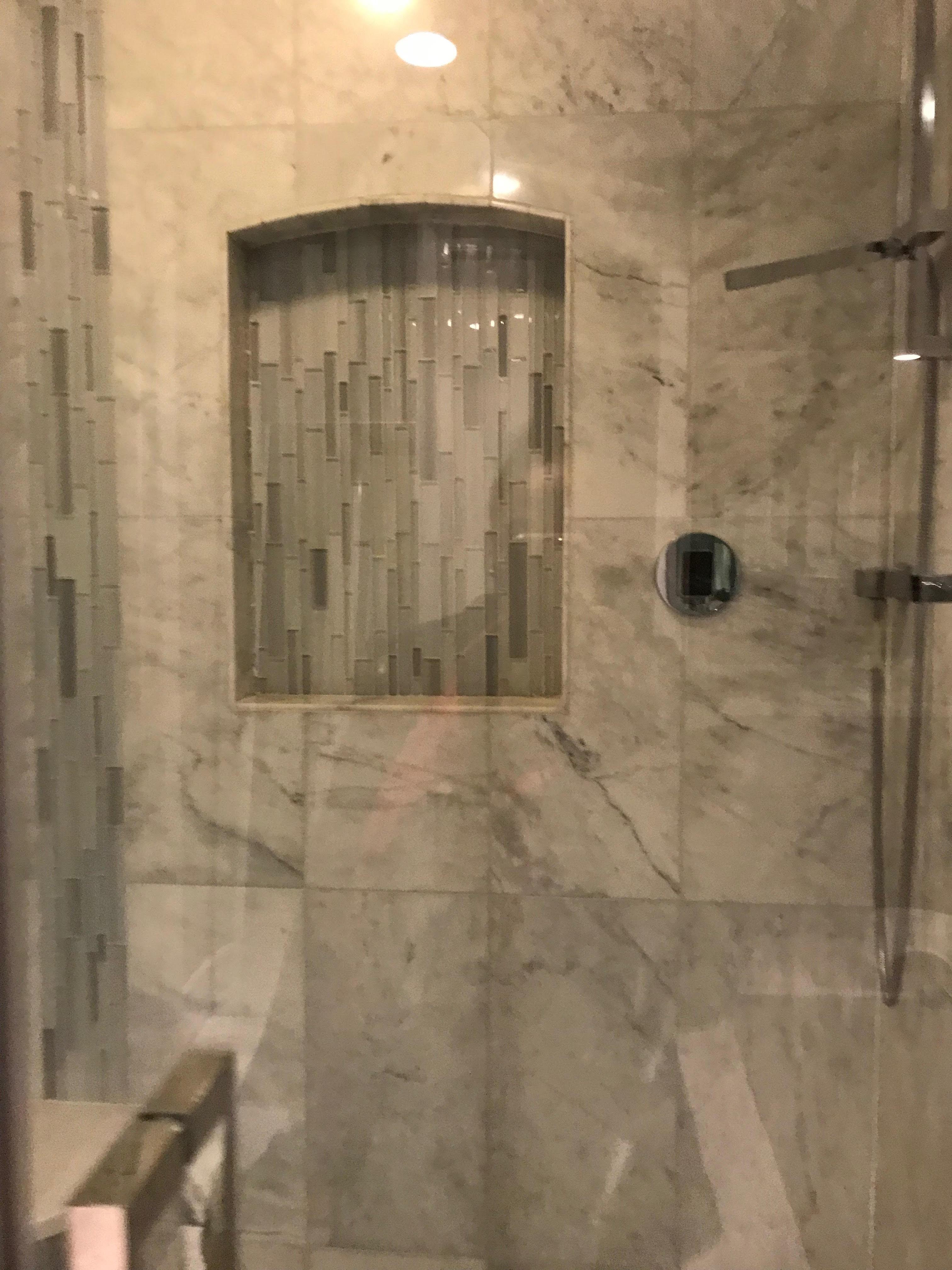 Marble Steam Shower Restoration - Lincoln Park, Chicago