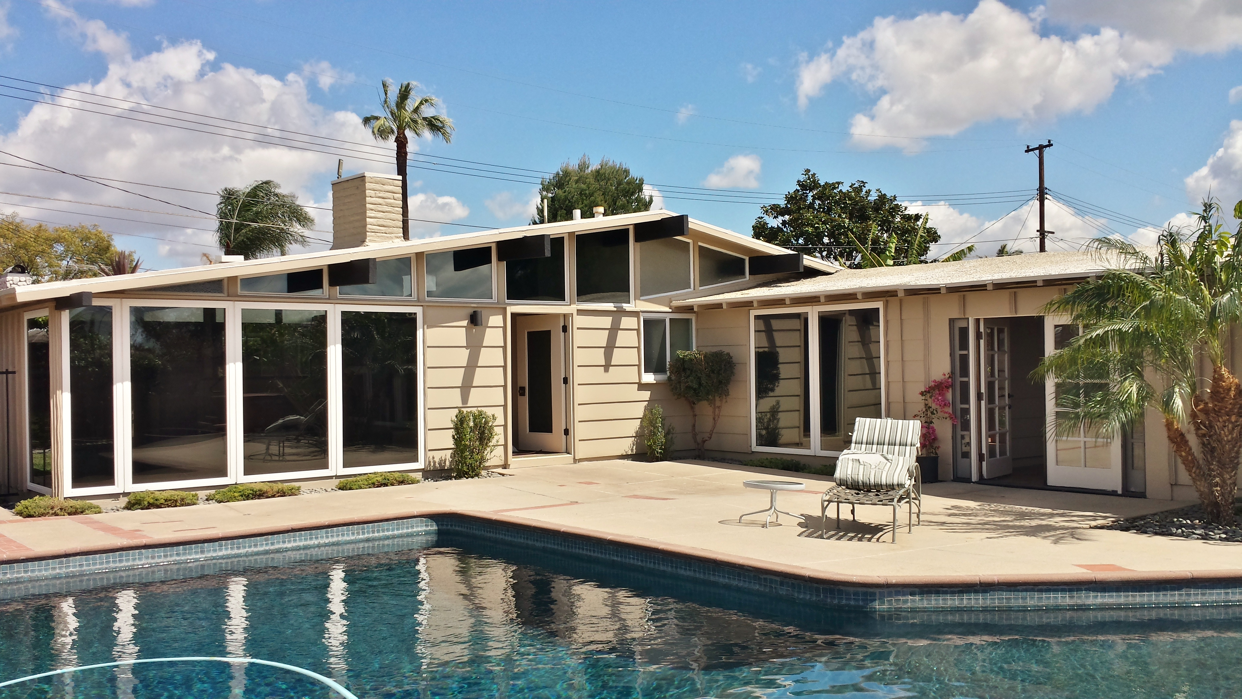 Cliff May Mid Century Modern Home For Sale