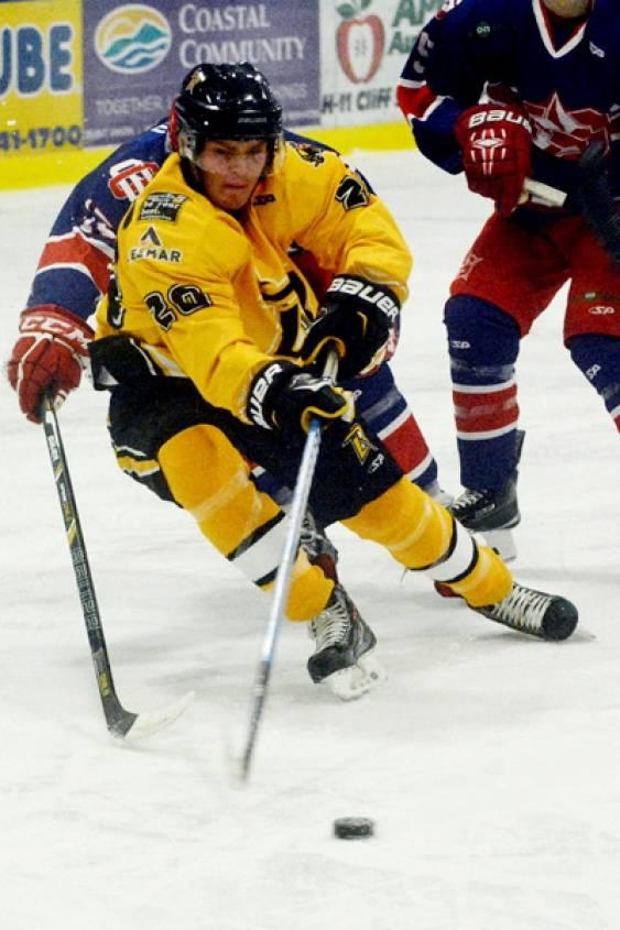 Nanaimo hockey