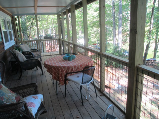 305 Lake Cheohee Road, covered porch