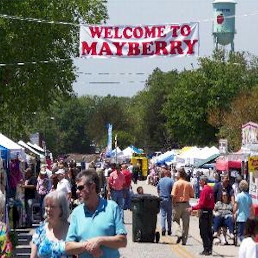 Mayberry Day Welcome to Westminster SC