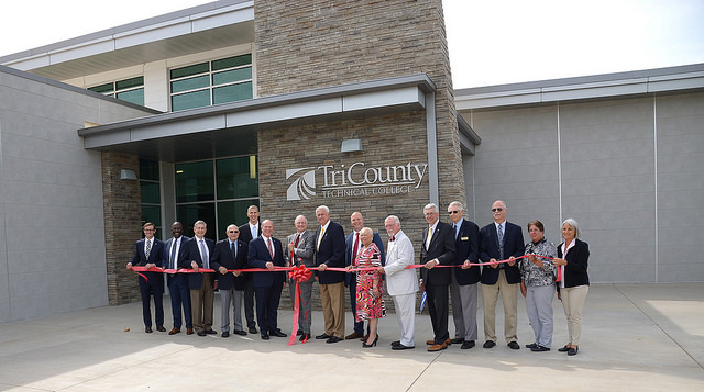 Tri-County Technical College Follow Oconee Campus Ribbon Cutting and Dedication Ceremony  August 17, 2018